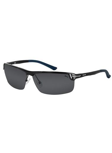 Slazenger 6679.C5 Polarize Erkek Güneş Gözlüğü Siyah